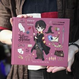 "Фото Скетчбук Гарри Поттер - коллекция ""Cute kids""(твердый переплет, 96 стр., 240х200 мм)"