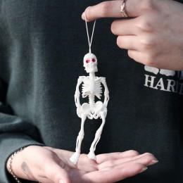 Фото Скелет брелок (цвет белый, чёрный)