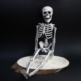 Фото Скелет человека - декор для Хэллоуина