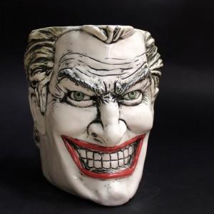 """Фото Кружка """"Джокер""""  керамика ручной работы"""