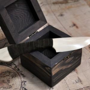 Фото Сувенирный ножик из кости (большой)