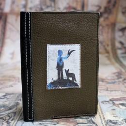 """Фото Кожаная обложка на паспорт """"Маленький принц"""""""