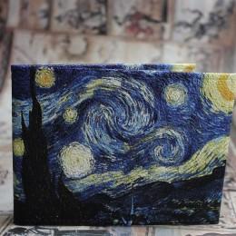 """Обложка на зачётку """"Звёздная ночь"""" Ван Гог"""