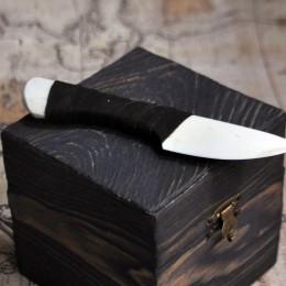 Фото Нож из кости сувенирный (маленький)