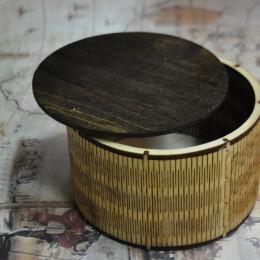 Фото Шкатулка-коробка круглая