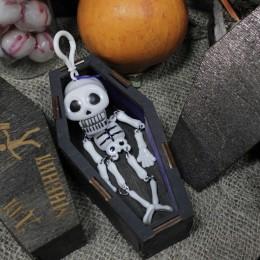 Фото Брелок скелет с заводной челюстью