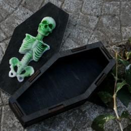 Фото Шкатулка-гробик скелет