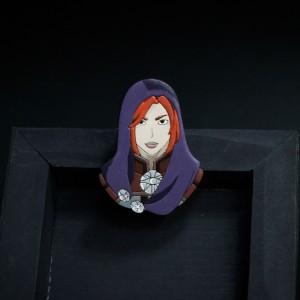 Фото Лелиана (Dragon age: inquisition) деревянная брошка