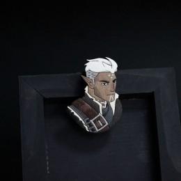 Фото Фенирис (Dragon age) деревянная брошка