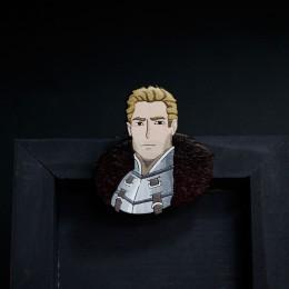 Фото Кален (Dragon age: inquisition) деревянная брошка