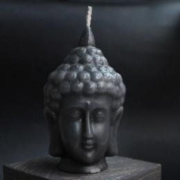 Фото Маленький Будда свеча чёрная