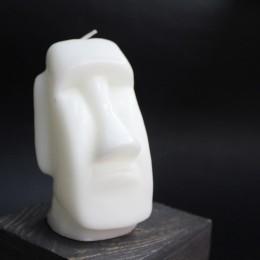 Свеча Истукан (белая)