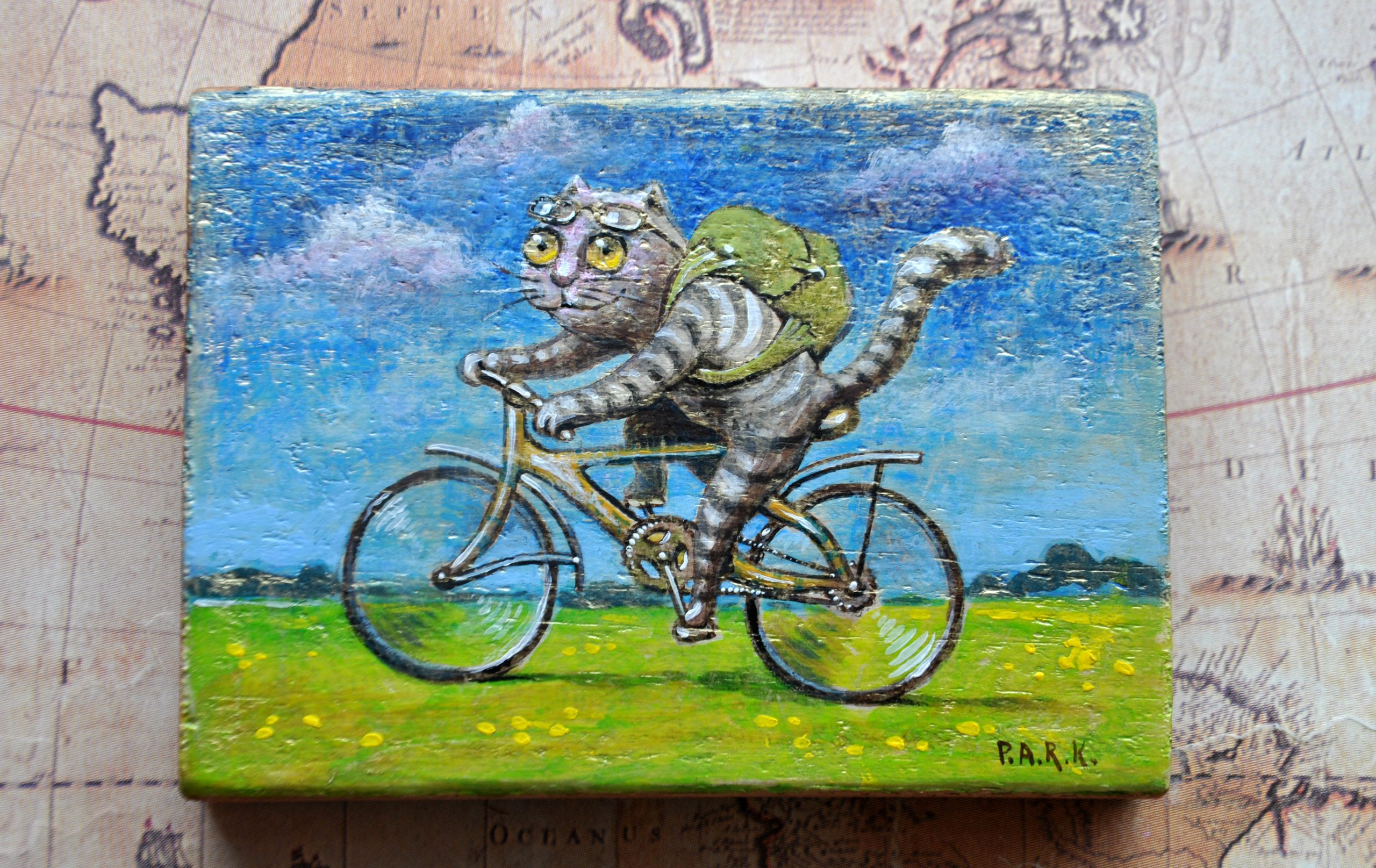 картинки котенок на велосипеде сожалению, эта